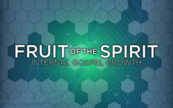 Fruit of the Spirit - SELF-CONTROL